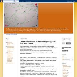Cartes heuristiques et Mathématiques (1) : un outil pour l'élève