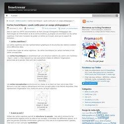Cartes heuristiques : quels outils pour un usage pédagogique ?