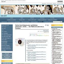 Cartes heuristiques pour synthétiser, mémoriser, réciter, ... les Fables de Jean de La Fontaine