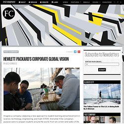 Hewlett Packard's Corporate Global Vision