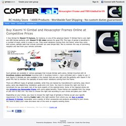Buy Hexacopter Frames Online at Competitive Prices - Copterlab