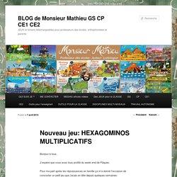 Nouveau jeu: HEXAGOMINOS MULTIPLICATIFS