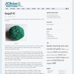 Hexipuff #2 « JCBriar Knitting