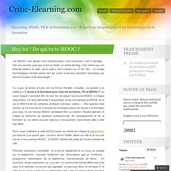 Romain Gibert - Elearning, FOAD et Formation 2.0