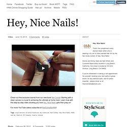 Hey, Nice Nails!