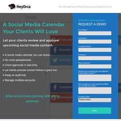 Social media approvals made easy
