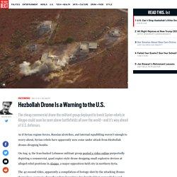 Hezbollah Deploys Drones
