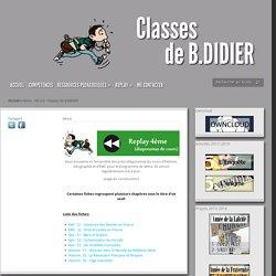 HG 2.0 - Classes de B.DIDIER