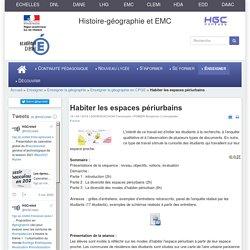 HGCréteil - Habiter les espaces périurbains