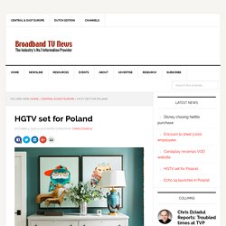 HGTV set for Poland - Broadband TV News