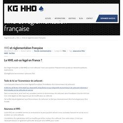HHO et réglementation française - KG HHO