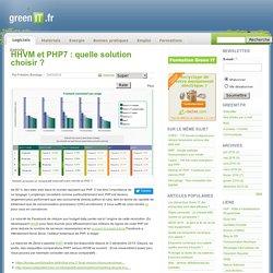 HHVM et PHP7 : quelle solution choisir