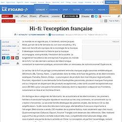 Hi-fi: l'exception française