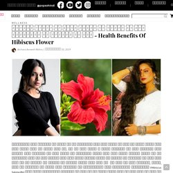 Health Benefits Of Hibiscus Flower in Hindi