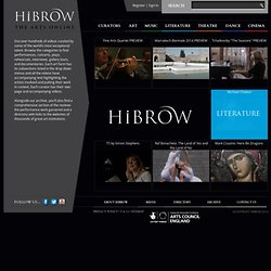 Welcome to HiBROW - Explore the world of HiBROW