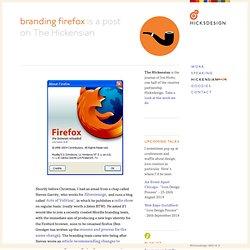 branding firefox