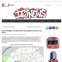 Anne Hidalgo: son plan pour les quartiers pauvres de Paris
