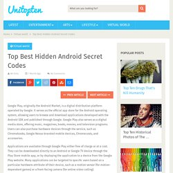 Top Best Hidden Android Secret Codes