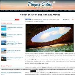 Hidden Beach en Islas Marietas, México