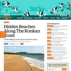 Hidden Beaches Along The Konkan Coast
