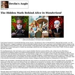 The hidden math behind Alice in Wonderland