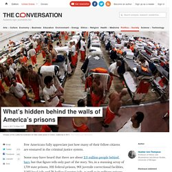 What's hidden behind the walls of America's prisons