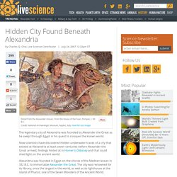 Hidden City Found Beneath Alexandria