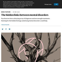 The hidden links between mental disorders
