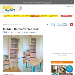 Hidden Coffee Table Hack