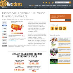 Hidden STD Epidemic: Maps Show Infection Rates in 50 States