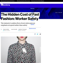The Hidden Cost of Fast Fashion: Worker Safety