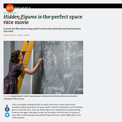 Hidden Figures is the perfect space race movie