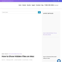 How to Show Hidden Files on Mac (Simple Methods)