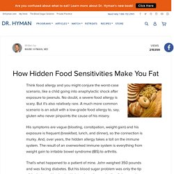 How Hidden Food Sensitivities Make You Fat