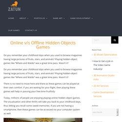 Hidden Objects Games
