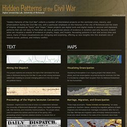 Hidden Patterns of the Civil War