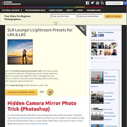 » Hidden Camera Mirror Photo Trick (Photoshop)