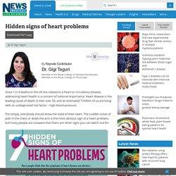 Hidden signs of heart problems