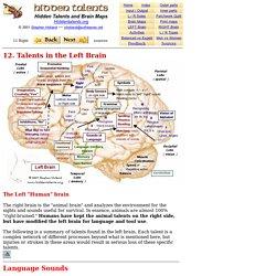 Brain 12 Left Brain