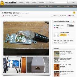 Hidden USB Storage