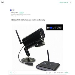 Hidden WiFi CCTV Cameras for Home Security