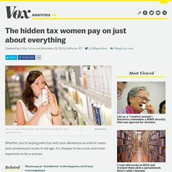 The hidden tax women pay on just about everything