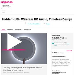 HiddenHUB - Wireless HD Audio, Timeless Design