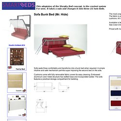 Mr. Hide - SmartBeds from FlyingBeds