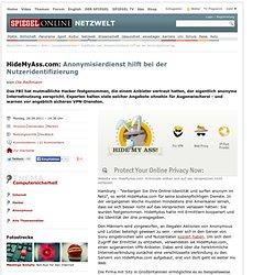 HideMyAss.com: Anonymisierdienst hilft bei der Nutzeridentifizierung