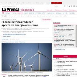 Panama - Hidroeléctricas reducen aporte de energía al sistema
