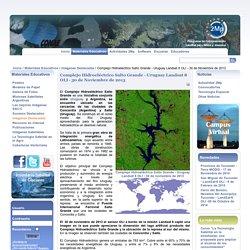 Complejo Hidroeléctrico Salto Grande - Uruguay Landsat 8 OLI - 30 de Noviembre de 2013