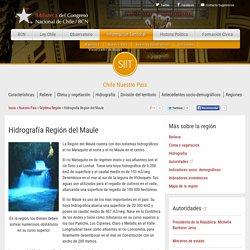 Hidrografía Región del Maule —