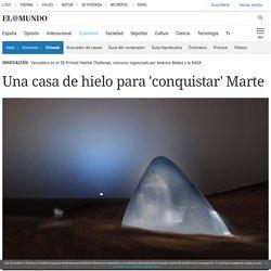 Una casa de hielo para 'conquistar' Marte