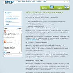Hiérachie 2.0 : le bouleversementblueKiwi Enterprise Social Software